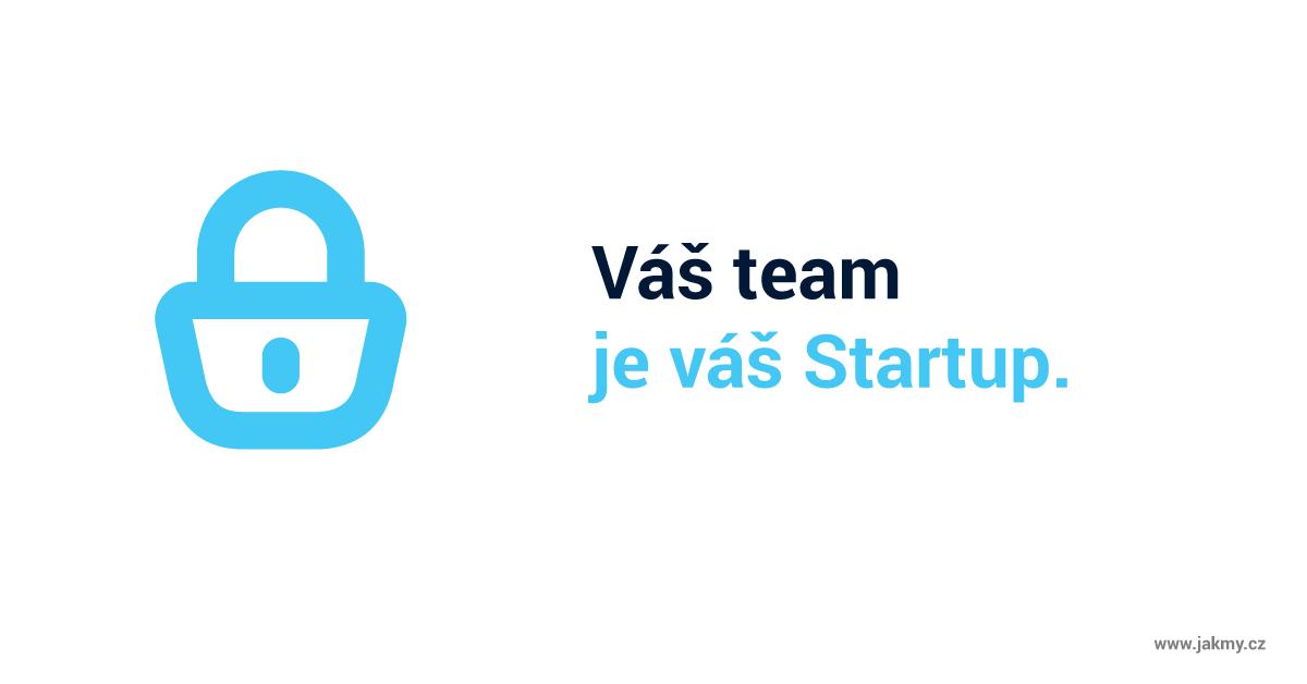 startup tým