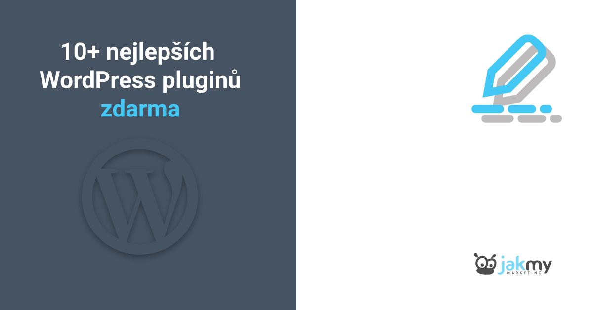 10 nejlepších WordPress pluginů