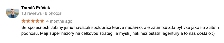 Klient - Tomas